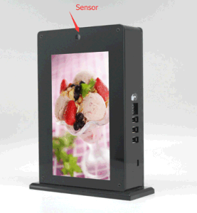 LCD Picture Play Power Bank with Sensor pictures & photos