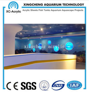 Customized Transparent Acrylic Fish Jar Project Price pictures & photos