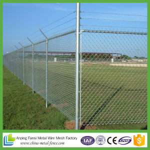 Galvanized Chain Link Fence/ PVC Coated Chain Link Fence for Sale pictures & photos
