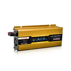 DC12V 24V AC220V High Frequency 2000W Modified Wave Inverter pictures & photos