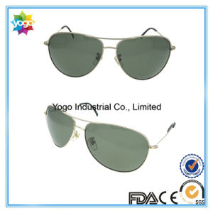 Gold Metal Pilot Nickel Free Sunglasses Best Selling China