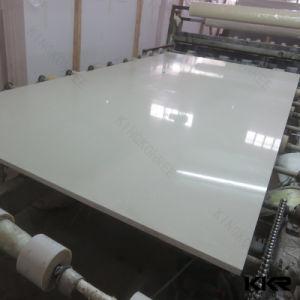 Big Size Slabs Sparkle Grey Mirror Color Quartz Stone 0713 pictures & photos