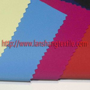 Twill Dyed Chemical Fiber Spandex Polyester Fabric for Dress Suit Curtain pictures & photos