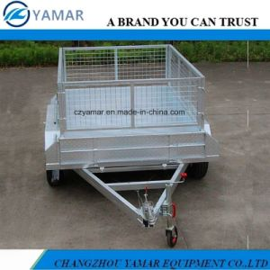 8X5 Utility Trailer with Cage pictures & photos