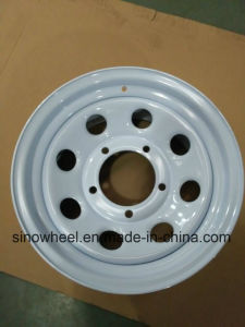 16 Inch 4X4 Steel Wheel PCD 5-130 pictures & photos