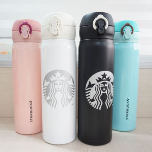 500ml Starbucks Autoseal 18/8 Stainless Steel Double Wall Travel Mug pictures & photos