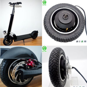 Jb-105-10′′ 36V350W Brushless Hub Motor for Electric Scooters pictures & photos