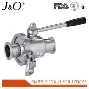 Stainless Steel Sanitary 2PCS Clamp Ball Valve pictures & photos
