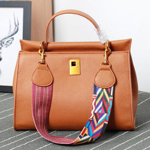 Trendy Colorful Strap Fashion Leather Designer Handbags for Ladies Emg4783 pictures & photos