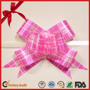 Eco-Friendly Polyester Ribbon Pull Butterfly Bow pictures & photos