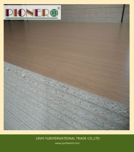 18mm Wooden Grain Mlelamine Particle Board/Chipboard for Kitchen Cabinet pictures & photos