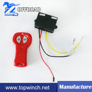 12V/24V DC Electric Winch Wireless Remote Control pictures & photos