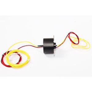 3A Per Circuit Through Bore Slip Ring for Aerospace / Defense