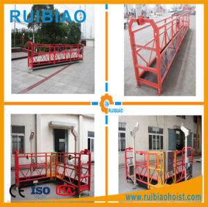 Hot Selling Aluminum Rope Suspended Working Platform pictures & photos