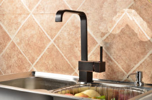 Orb Brass Kitchen Faucet with Ce pictures & photos