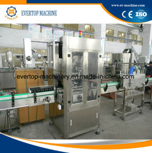 Bottled Mineral Water Hot Shrinking Sleeve Labeling Machine pictures & photos