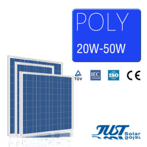 40W Poly Solar Panel with Certification of Ce CQC and TUV