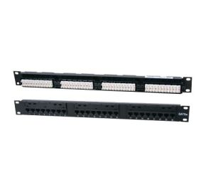 Competitive 24-Port Cat 5e Unshielded Patch Panel pictures & photos