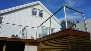 Stainless Steel Slot Pipe Post Glass Balustrade pictures & photos