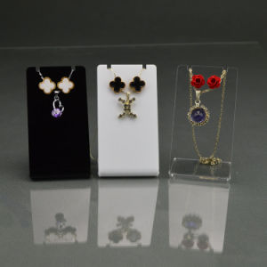 Full Color Acrylic Jewelry Holders, Simple Jewelry Display Stand pictures & photos