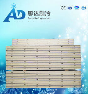 100mm PU Customized Cold Room Panels; Embossed Aluminum Surface pictures & photos