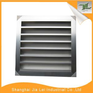 Anodized Weather Proof Louver Waterproof Louvre Grille