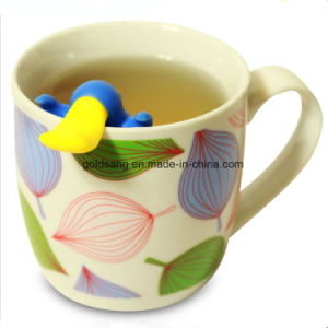 Colorful Silicone Platypus Tea Infuser, Cute Customised Shaped Silicone Tea Strainer pictures & photos