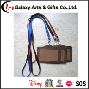 Personalized Blank Nylon Lanyards with ID Card Holder Custom Logo
