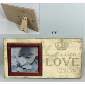 Wood Photo Frame - Love pictures & photos