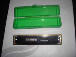 10 Holes Bruce Harmonica with Stainless Steel Cover pictures & photos