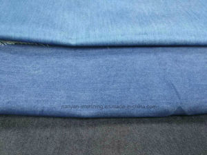 Woven Denim Fablic Indigo Twill Cotton Polyester Spandex Stretch Mercerizing pictures & photos
