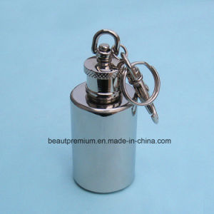 Hot Sell Staninless Steel Mini Hip Flask with Keychain BPS0184 pictures & photos