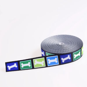 High Tenacity Blue Polyester/Nylon/Cotton Strap Webbing with Buckle pictures & photos
