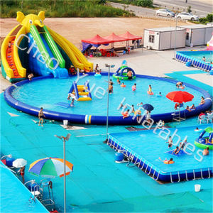 12X6m Elephant Slide Inflatable Water Park for Summer Sports pictures & photos