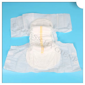Two Line Wetness Indicator Disposable Incontinence Adult Diaper pictures & photos