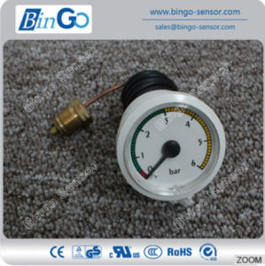 0-6 Bar Mini Air Pressure Gauge with Capillary pictures & photos