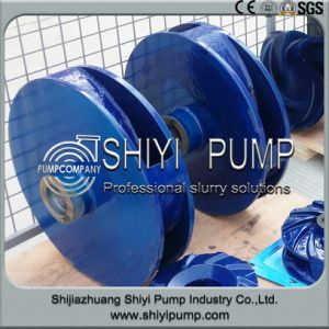 Anti Acid Polyurethane Lined Slurry Pump Parts Impeller pictures & photos