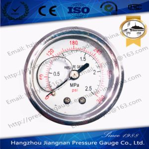 50mm 2′′ Ss Oil Filled Pressure Gauge with Axial Direction pictures & photos