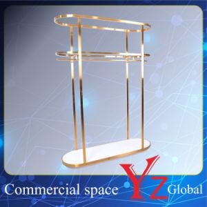 Display Shelf (YZ161703) Display Rack Stainless Steel Display Stand Hanger Rack Exhibition Rack Promotion Rack