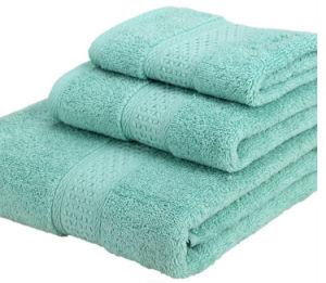 Best Price 100% Cotton Towel Set Wholesale pictures & photos