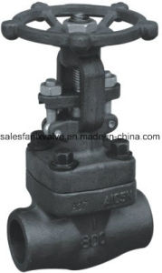 American Standard Forged Steel Welded Globe Valve pictures & photos