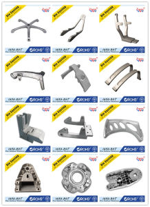 Aluminum Die Casting Factory Customized Furnitures Parts with Your Drawings pictures & photos
