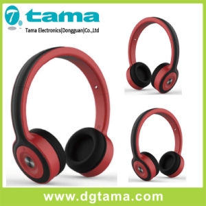 Bluetooth 4.0 Headband Headphone Wireless Bluetooth Headphone Red Color pictures & photos