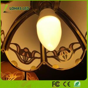 Energy Saving E12 6W Warm White Candelabra LED Candle Bulb Light pictures & photos