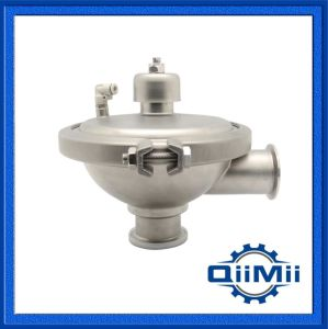 Sanitary Stainless Steel Divert Seat Valve Weld/Clamp/Thread Manual/Penumatic pictures & photos