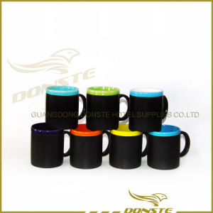 Unbreakable Two Tone Black Lead Free Ceramic Mug pictures & photos