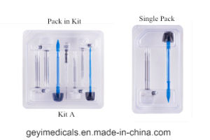Geyi Surgical Equipment Disposable Trocar pictures & photos