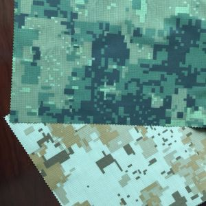 Camouflage Nets Fabric, Printed and Coated Fabric, Poly Check Pongee pictures & photos