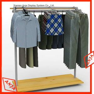Clothes Stainless Steel Display Rack with Metal Pegs pictures & photos