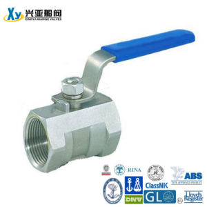 Stainless Steel 1PC Internal Thread Ball Valve pictures & photos